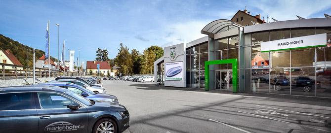 Skoda Marichhofer GMBH, ein kompetentes und freundliches Team erwartet Sie, mit Beratung und Service rund um Skoda, Jung-und Vorführwagen sowie Gebrauchtwagen aller Marken